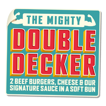Better Tier Double Decker Sticker